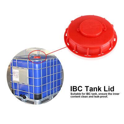 275-330 Gallon IBC Tote Tank Plastic Cover Lid Cap Red 163mm Breath Cover Lid US for sale  Walton