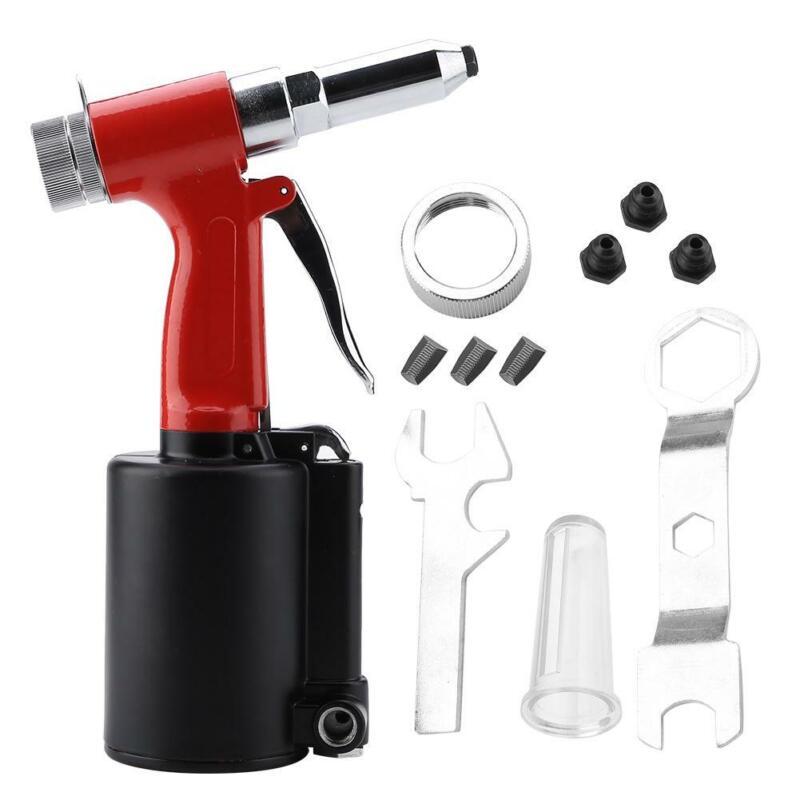 """Portable 3/16"""" Pneumatic Air Hydraulic Pop Rivet Gun Riveter Riveting Tool USA"""