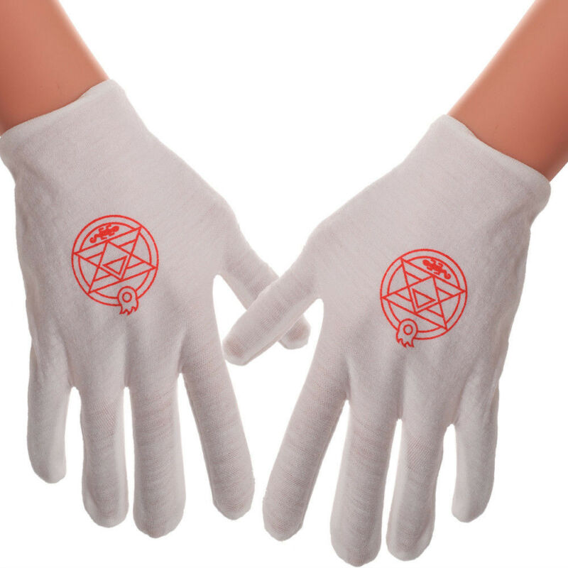 HOT Anime Fullmetal Alchemist Edward Magic Gloves Cosplay Costume Accessory
