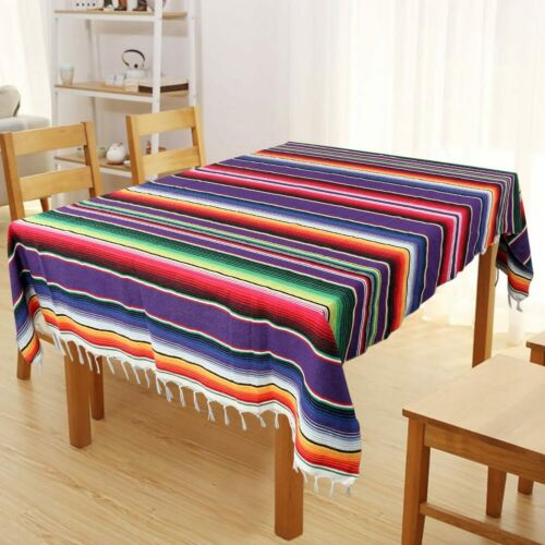 Mexican Table Runner Tablecloth Rug Serape Blanket Wedding B