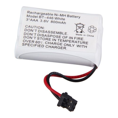 3.6V Home Cordless Phone Replacement Battery for Uniden BT-446 BT1005 DCT646 USA