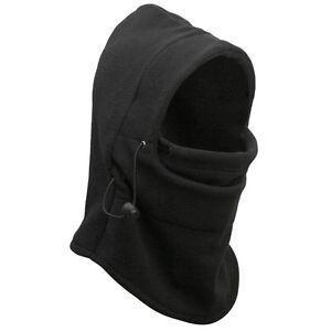 ... -THICKER-Layer-Warm-Full-Face-Cover-Winter-Ski-Mask-Beanie-Hat-BLACK