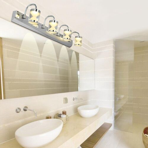 Modern Wall Light For Bathroom: Modern 3*3W LED Acrylic Bathroom Front Mirror Lights