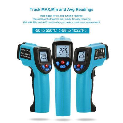 GM550 IR Infrarot Digital Laserthermometer Temperatur Messgerät -50℃ bis 550℃