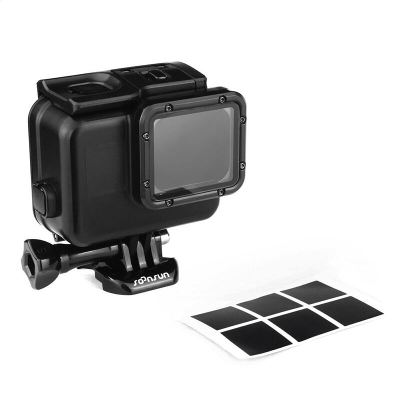 Blackout Protective Case Waterproof Underwater Housing Shell for GoPro Hero 5 6