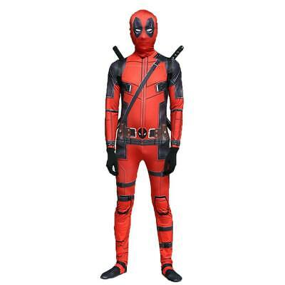 Deadpool Costume Kids Girls Boys Halloween Cosplay