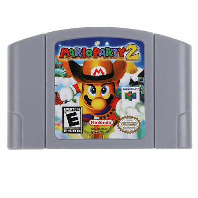 Mario Party 2 - For Nintendo 64 Video Games Cartridges N64 Console US Version