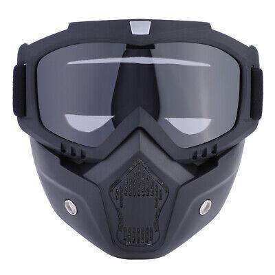 Schutzbrille Motorrad Offroad ATV Racing Gesichtsmaske Schutzhelm Gebirgsbrille