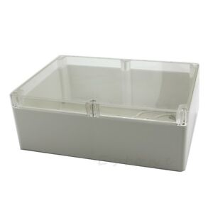 Waterproof Clear Electronic Project Box Enclosure Plastic