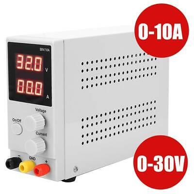Regelbar Digital Labornetzgerät Trafo DC-Netzteil 0-30V 0-10A Power Supply SUPER Dc Power