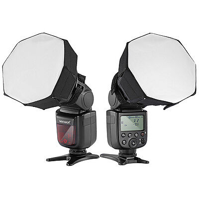 "Neewer Universal 5""x5"" Octagon Softbox Lighting for Canon Nikon Flash Speedlight"