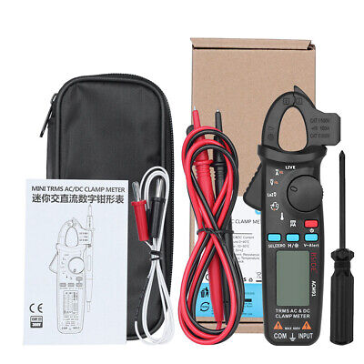 Bside Acm91 Mini Digital Clamp Meter Dcac Current Multimeter Car Voltmeter Test