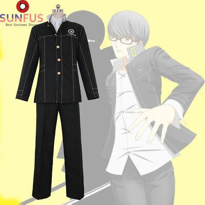 Halloween Persona 4 Yu Narukami Uniform Cosplay Costumes Adult Costume Movie