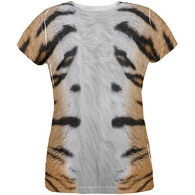Halloween Tiger Costume All Over Womens T Shirt](Halloween Tiger Costume)