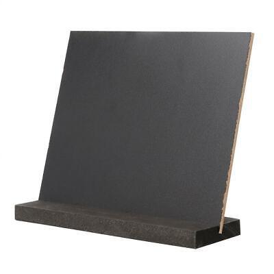 Mini Dual-side Chalk Board Blackboard Memo Signs Message Board Wedding Kitchen - Mini Chalk Boards