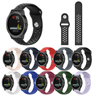 Silicone Breathable Watch Band Strap for Garmin Vivoactive 3 Vivomove HR Welcome Jewelry & Watches