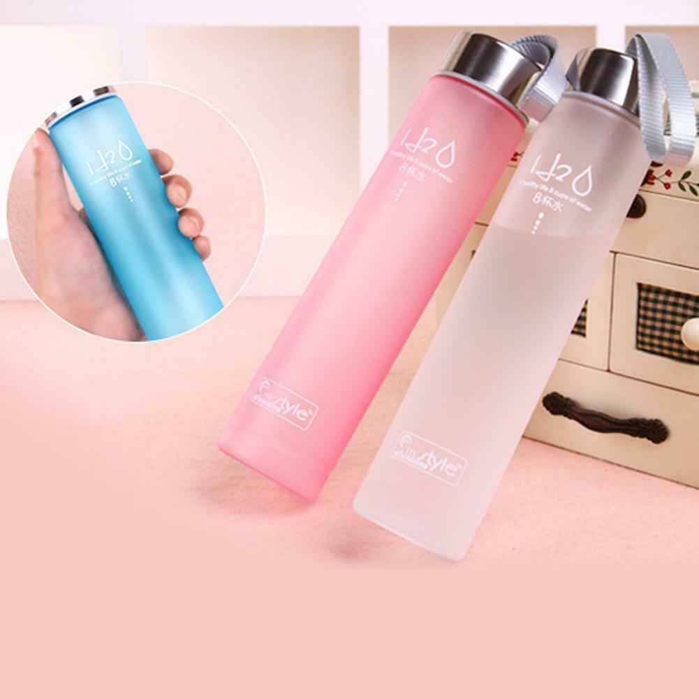 280ml Portable Leak-proof Sports Travel Water Bottle Cup Cycling Camping Cup
