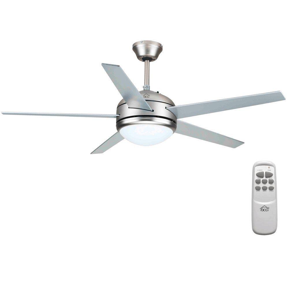 Ventilatore a soffitto da parete telecomando luce lampada Dcg VECRD70TL - Rotex