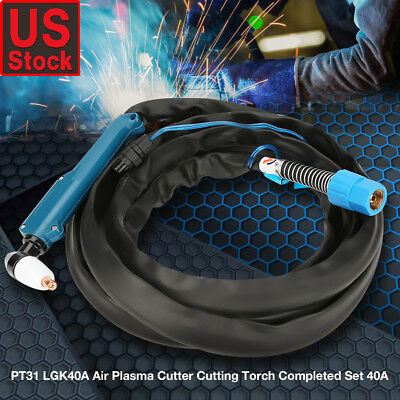 Pt-31 Plasma Cutting Torch Head Body With Mirco-switch Welding Tool Lgk40a