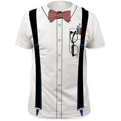 NERD Geek Dork Halloween Costume Tee T-Shirt S-3XL