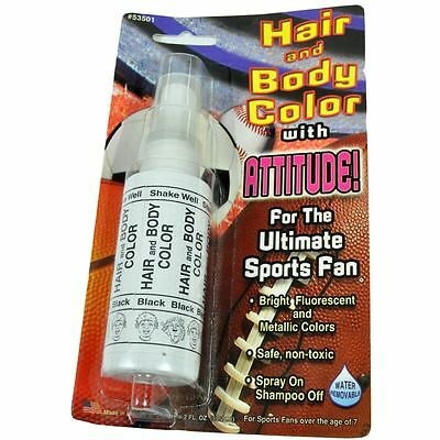 NFL NCAA Football College Game Hair Body Spray Paint Color Tailgate Halloween - Painting Halloween Games
