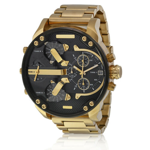 $10.48 - Men's Fashion Luxury Watch Stainless Steel Sport Analog Quartz Wristwatches US