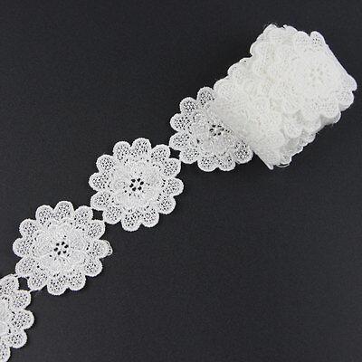 rten Weiß Lace Spitze Lace Bänder Braut Hochtzeit Verzierung (Rabatt Braut)