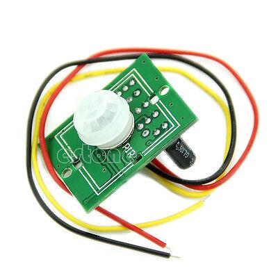1pc New Ir Pyroelectric Infrared Ir Pir Motion Sensor Detector Module Dc 5v-24v