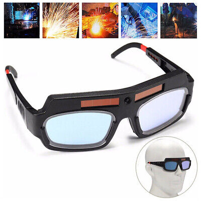 New Solar Powered Auto Darkening Welding Mask Eyes Goggle Welder Glasses Usa