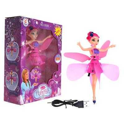Fliegende Spielzeug (Fliegende Fee Puppe Infrarot Induktion Steuerung Prinzessin Kinder Spielzeug)