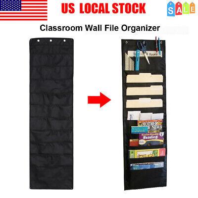 Over The Door Hanging Filefolder Organizer10 Pockets Wall Cascading Office