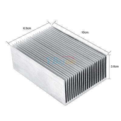 1006936mm Aluminum Heatsink Heat Sink Radiator Fin Led High Power Amplifier Ub