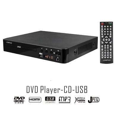 LP-099 Reproductor de DVD Full HD HDMI USB Multi Region Code Zone...