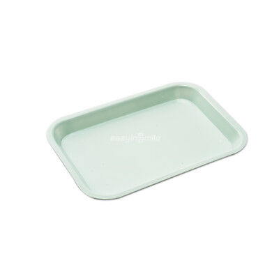 1pc Easyinsmile Dental Flat Size F Mini Tray Autoclave Blue 9-58x6-58x78