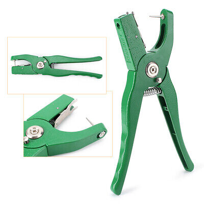Cattle Livestock Ear Tag Plier Puncher Applicator Tagger Fit Pig Goat Cow Dog