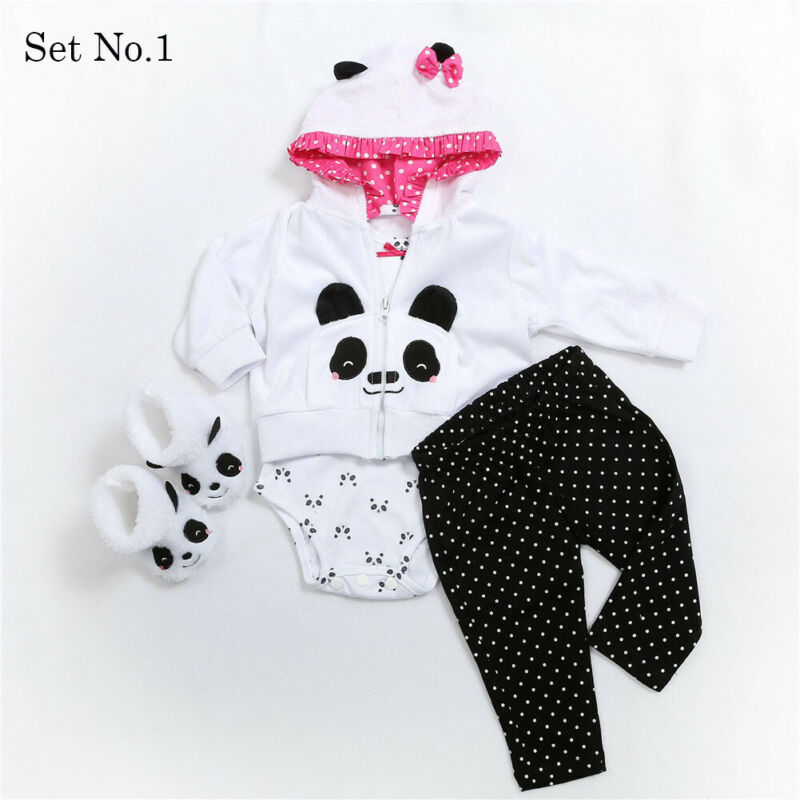"""Reborn Baby Doll Outfit Newborn Baby Doll Boy & Girl Clothes Only Fit For 22-24"""""""