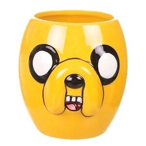 Official Adventure Time Jake 3D Sculpted Coffee Mug - Boxed Character Gift Dog
