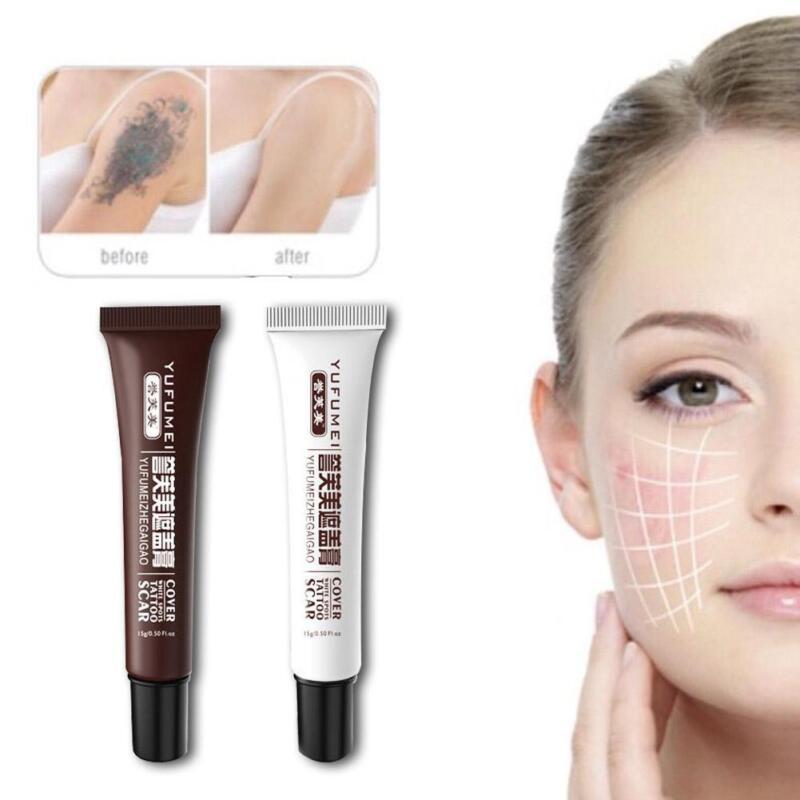 Skin Camouflage Make Up Concealer für Tattoo, Narbe und Muttermal_Vertuschen