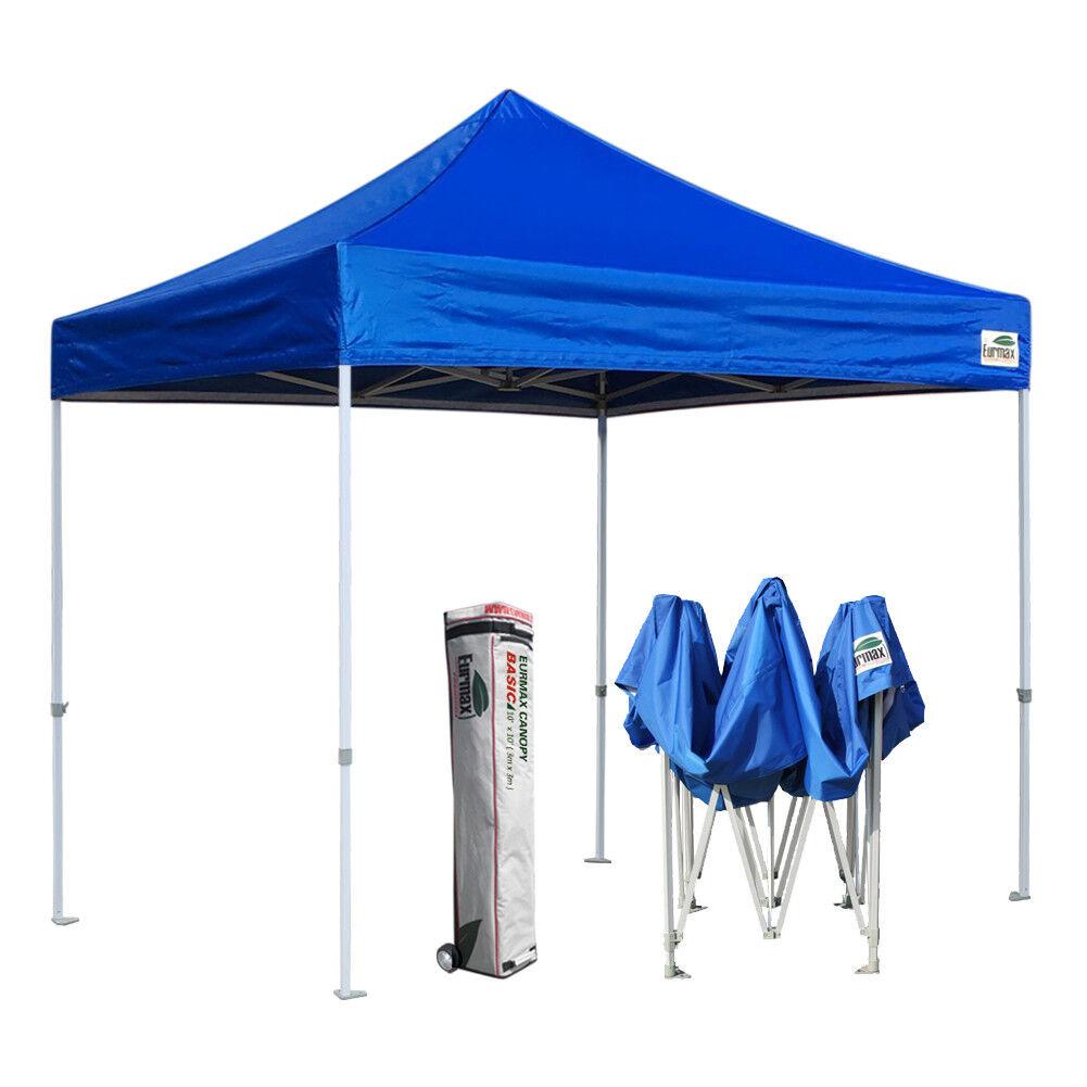 Waterproof 10x10 EZ Pop Up Canopy 10x10 Outdoor Party Campin