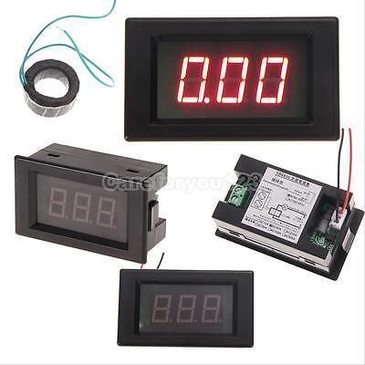 Lcd Ac 0-100a Digital Display Led Panel Voltmeter Ammeter Amp Ampere Meter New