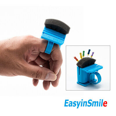 Easyinsmile Ring Type Dental Endo File Holder With Measure With Cleaning Sponge
