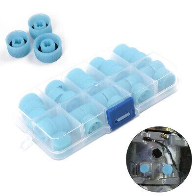30 High And Low Side Port Cap Auto Car Air Conditioner Plastic Refrigerant Valve