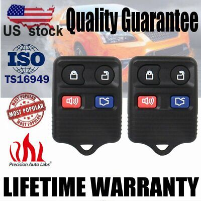 - 2 Remote Control Key Fob Car Keyless Entry Transmitter For Ford Escape 2003-2007