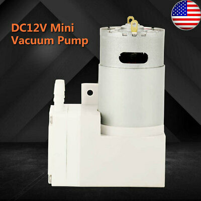 Dc12v Mini Vacuum Pump Negative Pressure Suction Pumping 7lmin -76kpa Us