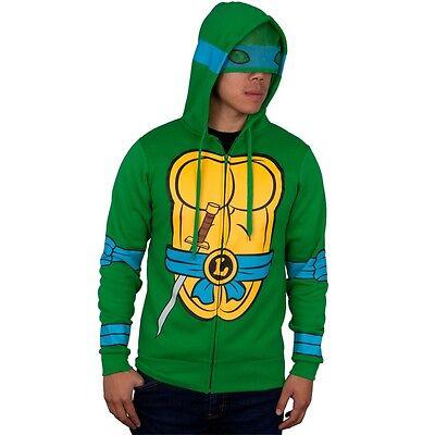 Teenage Mutant Ninja Turtles - I Am Leonardo Costume Zip Mens Hoodie