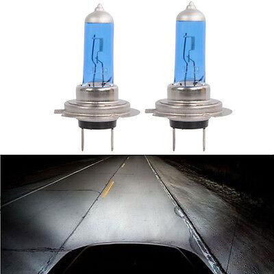 2Pcs 12V 55W H7 Xenon HID Halogen Car Head Light Bulbs Lamp 6000K