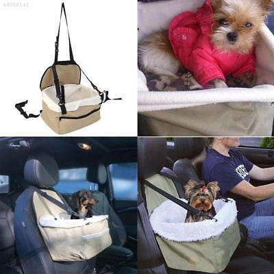 Dog Car Booster Seat Pet Supply Travel Foldable Safety Adjustable Strap Basket
