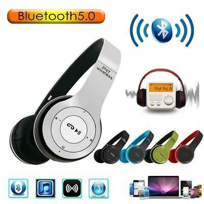Auricular Wireless P47 5.0 + Edr Wi Fi sin Cables Bluetooth Radio...