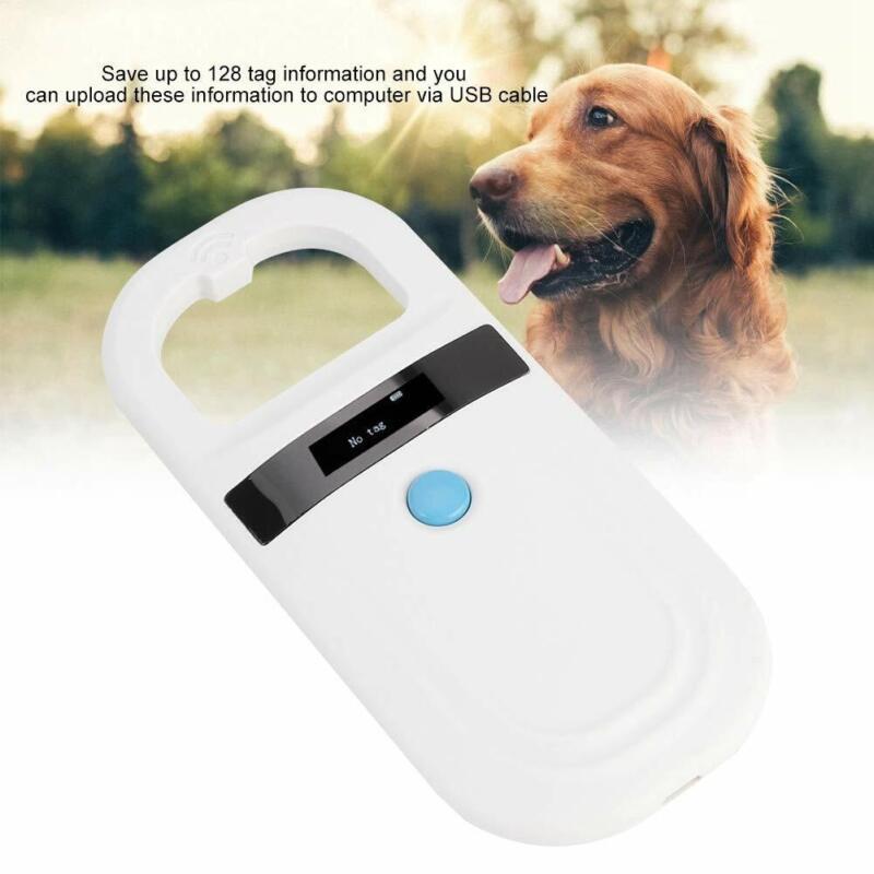 Microchip Reader RFID 134.2Khz, Pet ID Microchip Scanner With 0.91 Inch High... - $85.49