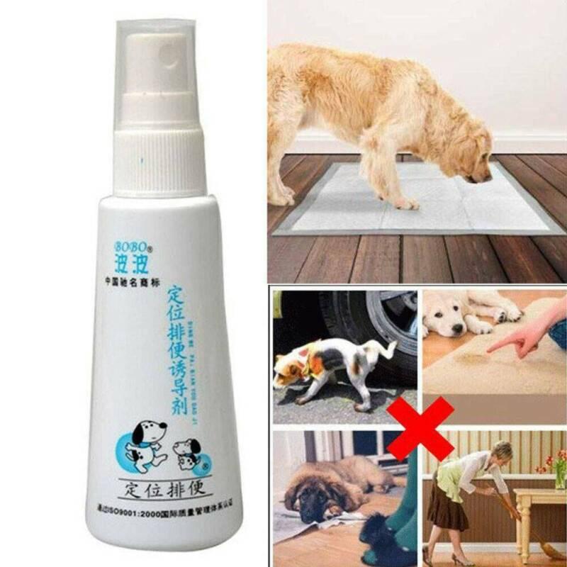 Dog Potty Training Aid Puppy Cat Pet Toilet Training Spray 6